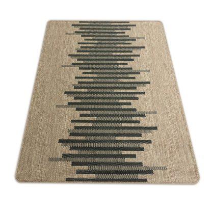 Nowoczesny płasko tkany dywan Sizal modny Belgijski parkiet brąz