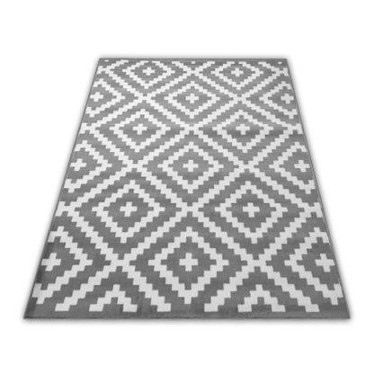 Nowoczesny dywan Skandynawski New Idea RUTA WS42