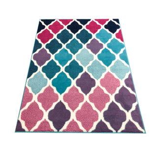 Nowoczesny dywan New Idea koniczyna Marokańska AN33