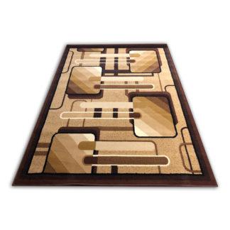 Klasyczny oryginalny dywan ALFA kwadraty