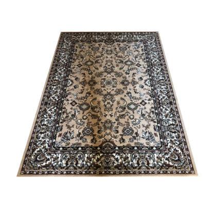 Klasyczny oryginalny dywan ALFA brąz