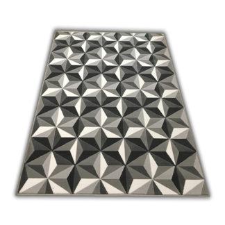 Mozaika 3D szara