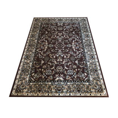 Oryginalny klasyczny dywan ALFA brąz