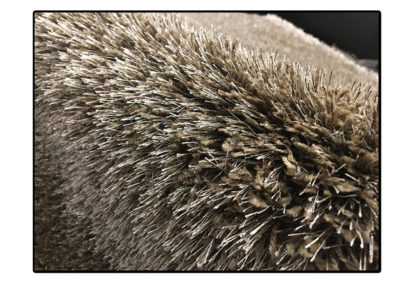 Dywan nowoczesny gruby shaggy mocca