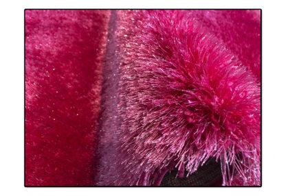 Dywan shaggy różowy