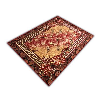 Klasyczny oryginalny dywan ALFA wersacz bordowy