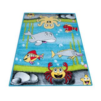 Kolorowy dywan dziecięcy Akwarium dla chłopca i dziewczynki