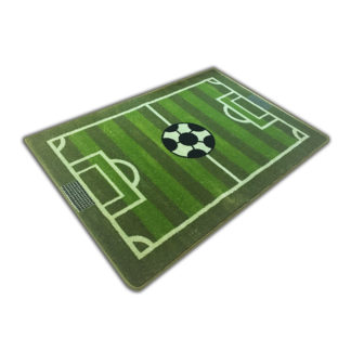 Gruby miękki dywan dziecięcy boisko zielone