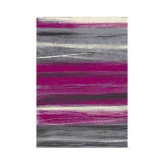 Modny miękki gruby dywan turecki paski różowe