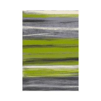 Dywan w paski zielone