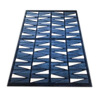 Nowoczesny dywan belgijski New Idea trójkąty