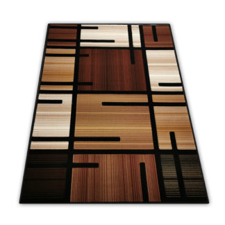 Tradycyjny dywan brązowy
