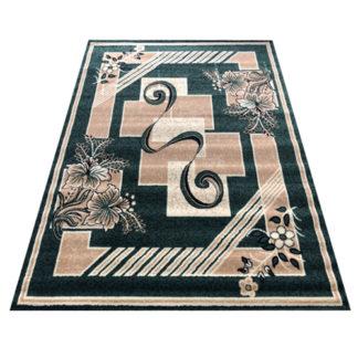 Modny dywan belgijski ALFA Smyczek zielony