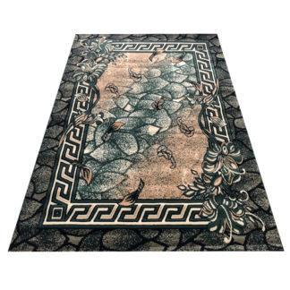 Modny dywan belgijski ALFA Wersacz zielony