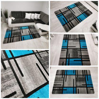 Turecki dywan turkusowy