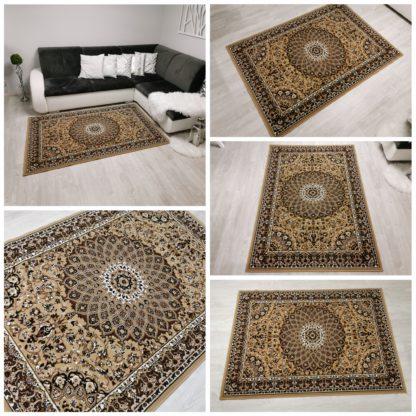 Tradycyjny dywan beż