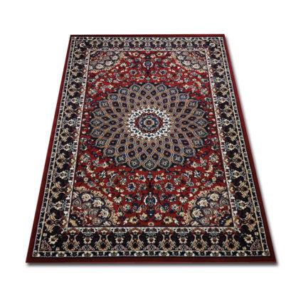 Bordowy dywan klasyczny