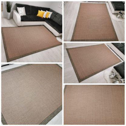Pomarańczowy dywan zewnętrzny sizal