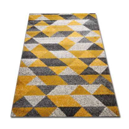 Piękny nowoczesny dywan żółty New Gold 965
