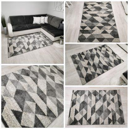 Piękny szary dywan