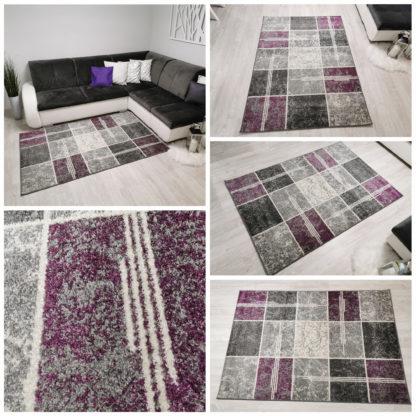 Fioletowy dywan