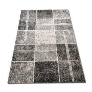 szare kwadraty dywan