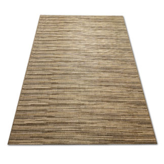 Modny płaski dywan Sizal przeplatanka ciemna