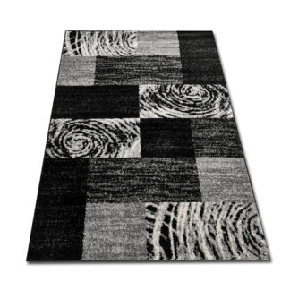 ciekawy dywan zebra