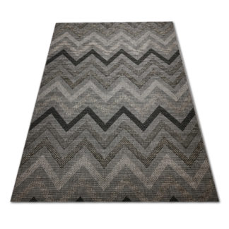Szary dywan sizal