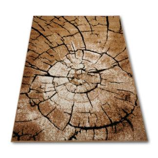 Nowoczesny naturalny gęsty dywan pień GL
