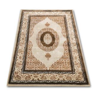 tradycyjny dywan beżowy