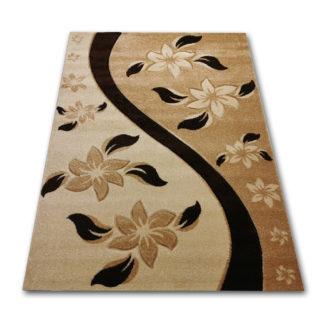jasny dywan wycinany