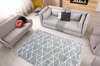 Szary dywan geometryczny