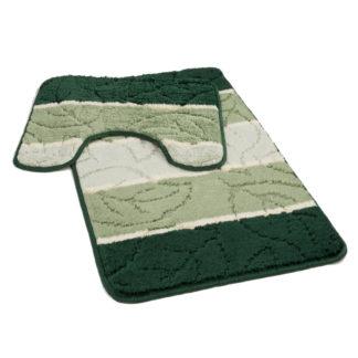 zielony dywanik Å'azienkowy