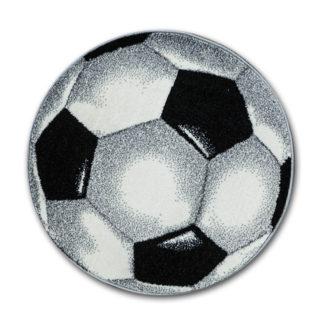 okrągły dywan piłka football