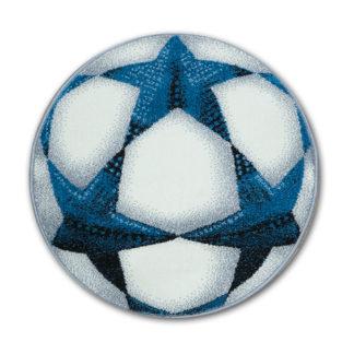 dywan piłka w gwiazdki