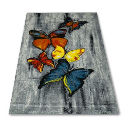 dywan w motylki