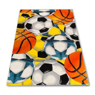 dywan dziecięcy w piłki