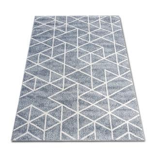 nowoczesny geometryczny dywan