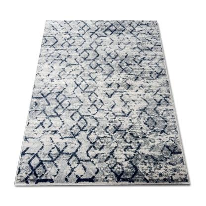 nowoczesny geometryczny jasny dywan