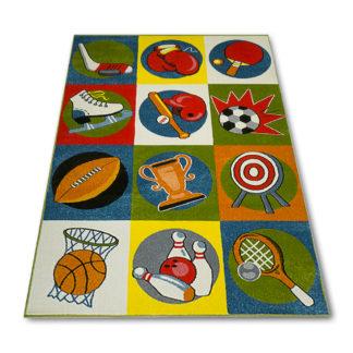 sportowy dywan dzieciÄ™cy