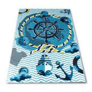 dywan dla chłopca statek
