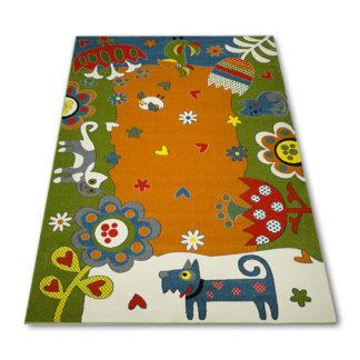 dywan zwierzaki