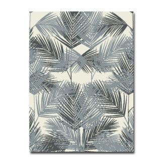 Szary dywan w liście