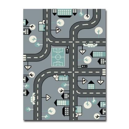 modny dywan uliczki