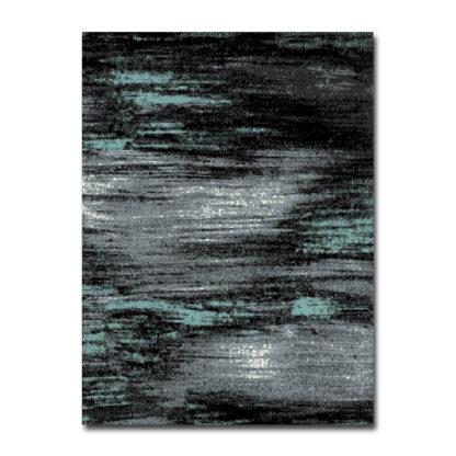 turkusowy dywan przecierany