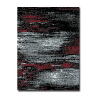 czerwony dywan przecierany