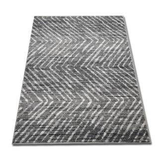 nowoczesny szary dywan