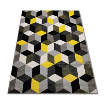 żółty-dywan-nowoczesny