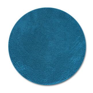 okrągły dywan turkusowy